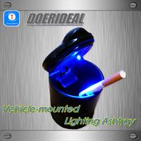 2014 Limited Direct Selling Ccc Luminous Typer Wholesale Car Ashtray 4s Belt Led Lighting Fashion Auto Supplies