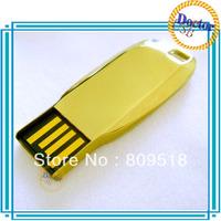 High-Class Metal USB Drive 1GB 2GB 4GB 8GB 16GB 32GB Memory Flash Thumb Stick Golden