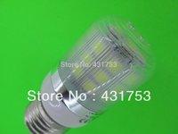 6W  E27   360 degree 30 SMD 5050 LED Light Bulb White Warm White light 220V 360Lm LED Corn Light spotlight bulbs With Cover