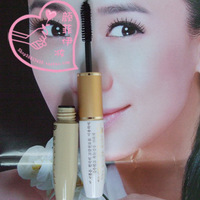 Color: black + white nourish fluid Dual usage eyelash to cream Double-head mascara Long type thick  Roll become warped type
