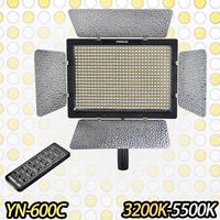 Bi-Color YONGNUO YN600 YN-600 II LED 3200k-5500k Color Temperature Adjustable 600 LEDs Video Light YN-600 ,YN 600 LED