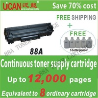 88A(CTSC) compatible for HP LaserJet Pro P1106 drum unit ; one CTSC equal to 6 pieces of normal toner cartridge,lowest cost