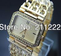 Luxury Brand New Man Women's Watch Free Shipping Famous Name Designer Quartz Watches With Rhinestone Clock Fashion Jewelry Hours