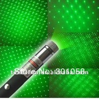 Free shipping  Wholesale hot sale 5 in 1 star green laser pointer