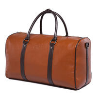 men's travel bags Large capacity cowhide genuine leather bag shoulder  tote travelling bags
