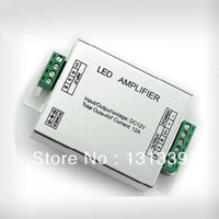 144W High Power LED RGB amplifier for LED RGB strips / modules, DC12V 24V 3 channels, free shipping