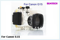 2013 Free shipping Newest best quality Pro 40M Waterproof Camera Case housing for Canon G15 powershot WP-4D