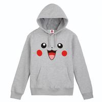 freeshipping /  cotton Japanese anime Pikachu standing /autumn hoody / the sports /man hoody /sweatshirt