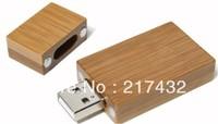 usb flash drive wooden rectangle with freecustom  logo printing  KYUFD30