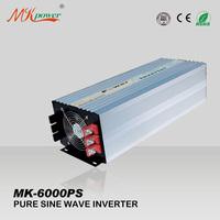 FREE SHIPPING, 6000W 12v/24v dc to 220/230v ac pure sine wave inverter solar inverter