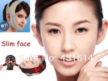 Free Shipping 2 Styles V-line Uplift Face Mask Slim Chin Bandage Anti Wrinkle Sagging Cheek Massage Shaper Mask Relaxation