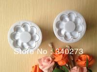 Free shipping 2PCS  Plastic Flower cake cookies machine plunger paste sugar craft decorating tools