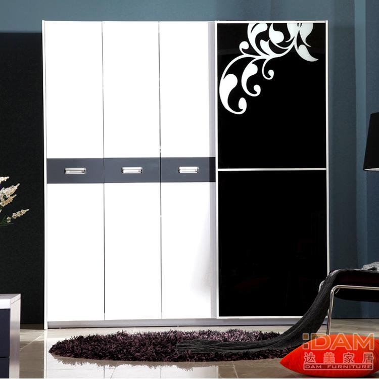 Wardrobe Doors Modern : Pinyou-Home-DAM-three-door-closet-sliding-door-wardrobe-modern-simple ...