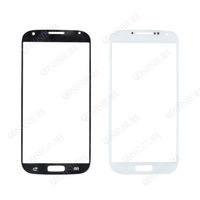 Free shipping WHITE   front Outer Glass Lens screen parts Replacement for samsung Galaxy S4 MINI i9190