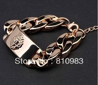 Store latest design CCB material lion head bracelet