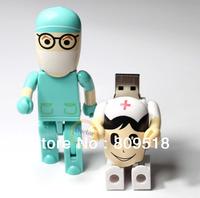 Cute Doctor Blue/ Doctor White USB 2.0 Drive 1GB 2GB 4GB 8GB 16GB 32GB Thumb Stick Memory Flash Pendrive