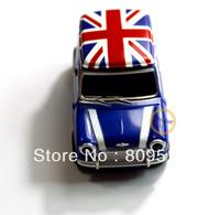 Cute Mini Blue Car Plastic Memory Flash USB2.0 Drive 1GB 2GB 4GB 8GB 16GB 32GB Thumb Pendrive Stick