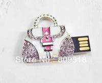 Crystal Handbag Memory Flash Thumb Stick 1GB 2GB 4GB 8GB 16GB 32GB True Capacity USB Pendrive