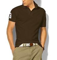 Famous Men Horse LOGO Fashion Fit  Cotton POLO Short Sleeve Shirts Men's Brand Polo Shirts Sport Cotton Casual Summer Brand POLO