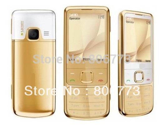 6700C Unlocked Original Nokia 6700C Classic Gold Cell Phone with black box Russian Keyboard HK/SG/SWISS Post Free Shipping(China (Mainland))