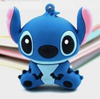 usb flash drive 1-32GB cartoon stitch , pen drive, cartoon pendrive, wholesale price free shipping hot sale