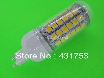 NEW  G9 5050 69LED Corn Bulb Light (1100 lumens) LED Lamp 200V-240V 360 degree white / warm white ( high brightness )