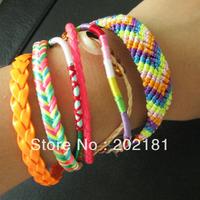 Free Shipping Retail/Wholesale 3pcs/lot  2013 new design Brazilian bracelets Colorful Magnetic Hipanema Bracelet