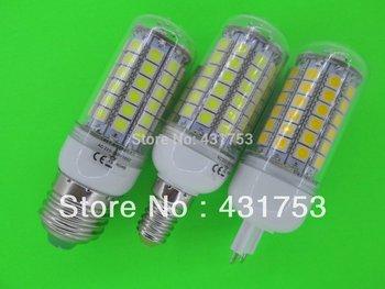 NEW E27 5050 69 LED Corn Bulb Light (1100 lumens) LED Lamp 200V-240V 360 degree white / warm white ( high brightness )