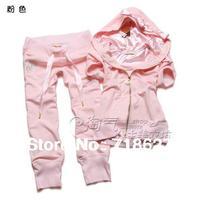 Free shipping -2013 Brand New Style Korean Fashion Slim Thin Short-Sleeve Leisure Cotton Cardigan Bow Rhinestone Women Suit