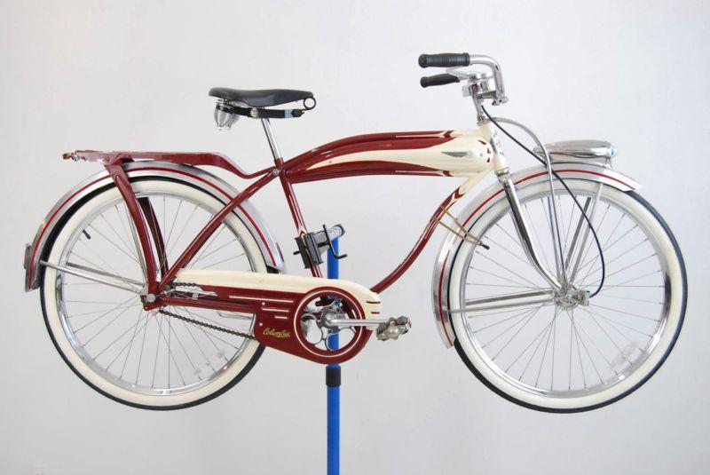 Red Vintage Bike Bike Motobike Red Vintage