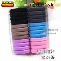 Ultra Elastic Seam None Towel Headband High Quality  Hair Rope Hair Accessory 1 Box 24 Pcs Hairbands