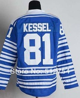 #81 Phil Kessel Jersey,Ice Hockey Jersey,Winter Classic Jersey,Best quality,Embroidery logos,Size M--XXXL,Can Mix Order