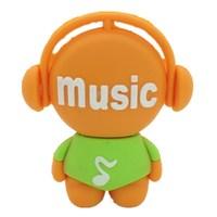 pen drive cartoon music man 8gb 16gb 32gb 64gb 512gb Musician usb flash drive flash memory stick pendrive gift free shipping