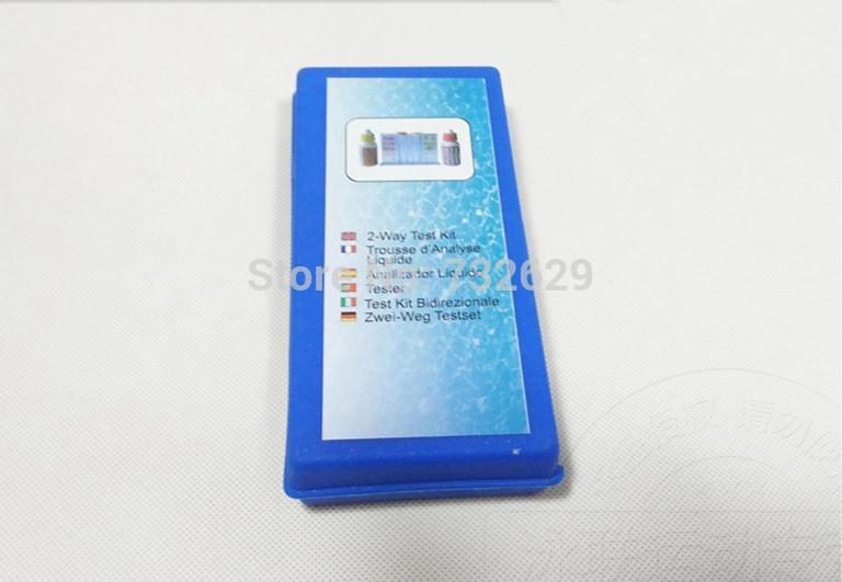 1 pcs free shipping Swimming pool ph & cl test kit chlorine ph water test easy to read chlorine tester(China (Mainland))