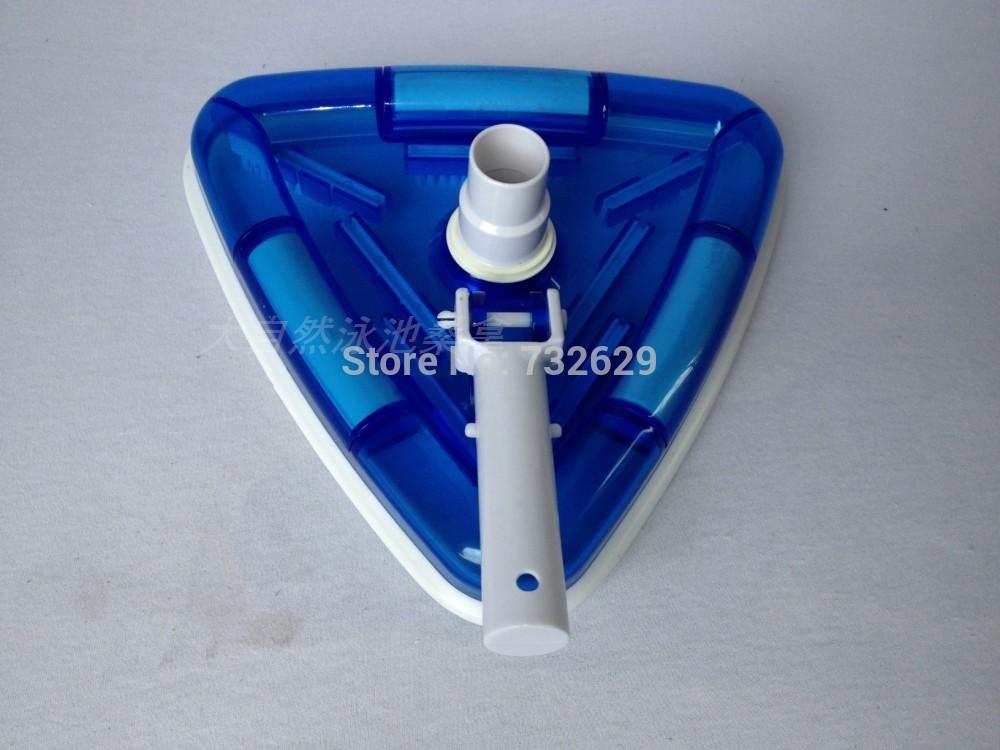 Vacuum Head Pool Cleaner - Trianguler wide Easy Wheel Flexible Head boias para piscina(China (Mainland))