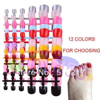 5set nail accessories optional acrylic nail art false fake nail tips fake toenail bridal toenail without glue 12pcs/set