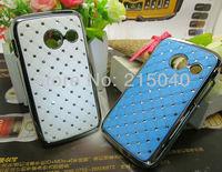 Free Shipping! High Quality Plating Bling Star Crystal Diamond Rhinestone Hard Case for Samsung Galaxy Y Duos S6102, SAM-096