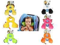 Benbat 0-12 months Cute Cartoon ainimal design Baby Travel friends U Pillow head rest 1 pc