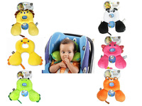 Benbat 0-12 months Cute Cartoon ainimal design Baby Travel friends U Pillow head rest 1 pc