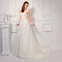Free Shipping S600 Real Photos Elegant And Sexy Fashion Bra Lace Trailing Wedding Dress 2013 Latest