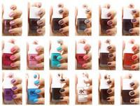 Bk scrub dull nail polish oil free shipping 5pcs/set