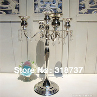8pcs/lot Tall 63cm Manufacturers wholesale  High-grade metal candlestick/wedding candlesticks