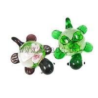 12pcs/lot Wholesale High Quality Flower Lampwork Pendant, DIY Necklaces Pendants Fashion Jewelry Making Charms