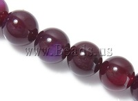 Free shipping!!!Natural Rose Agate Beads,Beautiful Jewelry, Round, 14mm, Hole:Approx 1.5-2mm, Length:Approx 15 Inch