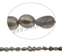 Fashion Jewelry Baroque Cultured Freshwater Pearl Beads Grade A 11-12mm, Hole:Approx 0.8mm, Sold Per 15 Inch Strand