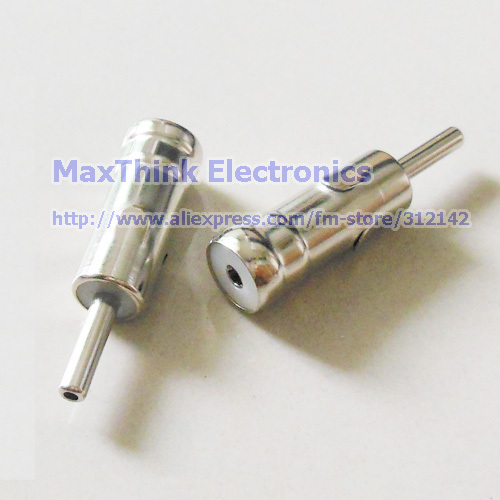 Free shipping/100pcs/High Quality Male Car Radio ISO plug to Din Aerial ANTENNA PLUG Adapter Connectors New(China (Mainland))