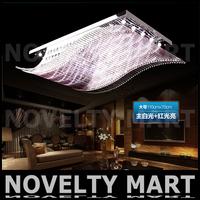 бесплатно fedex 380 мм круглые устрицы потолок, освещение 220v привело 24w потолок лампа современной гостиной огни спальня лампа nm0375