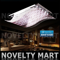 2014 Fashion Crystal Ceiling Light 85-265V 20W LED Ceiling Lamp Modern Living Dining Hotel Room Crystal Lighting Free Fedex
