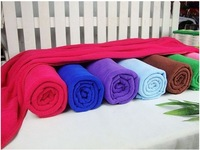 FREE SHIPPING---Large Microfibre Sport Gym Swimming Camping Beach Travel Yoga Bath Towel Microfiber 70x140CM 1 pcs/lot