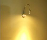 3W LED Cool Warm White Mirror Wall Mounted Toilet Light Bathroom Lamp Cabinet AC 85V~265v Aluminum  bj29